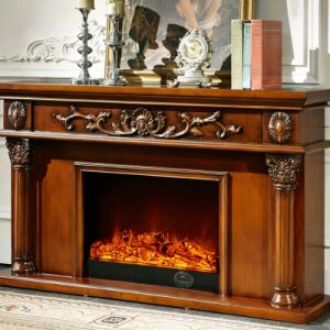 8063 Model Mantel For Electric Fireplace Heater