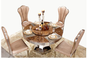 China Modern Luxury Round Dining Table Sets For Dining Room Restaurant China Dining Table Set Dining Set
