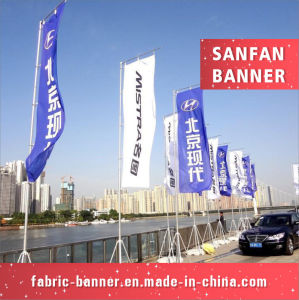 High Quality Customized Advertising Water Injection Flag