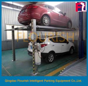 Car Lift For Home Garage >> Four Post Hydraulic Parking Car Lift For Home Garage