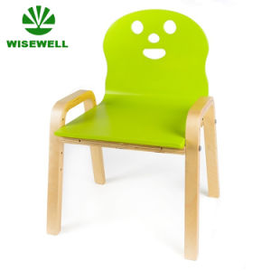 Kids Toddler Bentwood Chair In Smile Face Shape