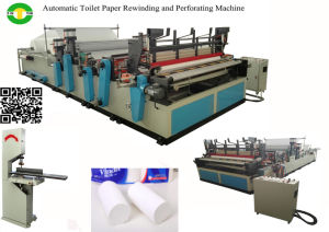 CE Certification and Cutting Machine Processing Type Small Toilet Paper Roll Making Machine pictures & photos