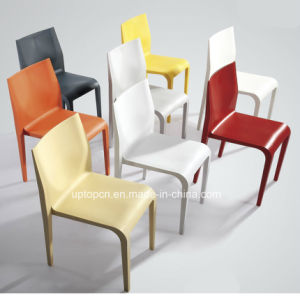Simple Design Colorful Office Dining Plastic Chair (SP-UC048) pictures & photos