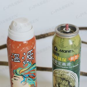 Aluminum Hair Shaping Spray Aerosol Can with Offset Printing (PPC-AAC-002) pictures & photos