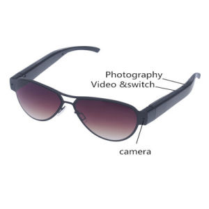 Eyewear Sunglasses Camera with Clear Lens Hidden Glasses Camera