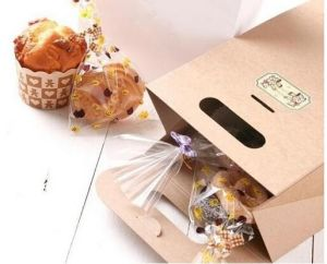 Wholesale Custom Colorful Kraft Paper Bakery Bread Bag pictures & photos