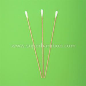 6′ Wooden Stick Cotton Swab for Medical/Industry Use (W221505)