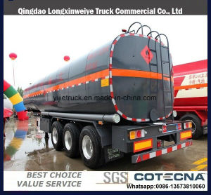 2018 new bitumen asphalt liquid transport semi trailer with heating system