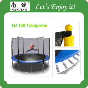 Health Care Equipment for Kids, Fitness and Gymnastic Outdoor Trampoline, 4.57m pictures & photos