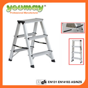 En131 Approved Folding Ladder Ad0403A