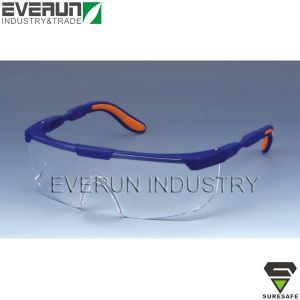 ER9314 Working Goggles Safety Glasses with Soft Adjustable Legs pictures & photos