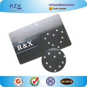PVC Tk4100 Smart Card Hotel Diamond Card for VIP Members