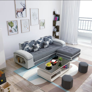 Amazing Loveseat Ottoman Sectional Living Room Furniture Fabric Sofa S889 Evergreenethics Interior Chair Design Evergreenethicsorg