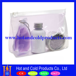 Clear PVC Cosmetic Packing Pouch, Zipper Pouch