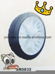 Hot Sale 8 Inch Solid Rubber Wheel pictures & photos