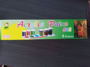 Acrylic Colour Acrylic Paint Set pictures & photos
