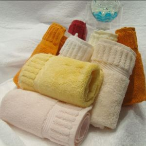 Luxury 100% Cotton Hotel Towel Hand Towel pictures & photos