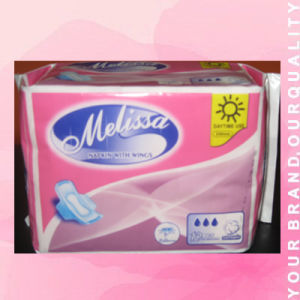 Soft 240mm Day Use Sanitary Napkin (JHW4) pictures & photos