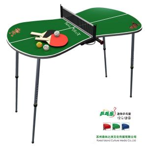 Mini Portable Table Tennis Set   Green (YY12TTS01 G)