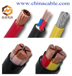 China XLPE Insulation Electric Wire Cable, Electrical Power Cable ...