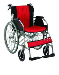Aluminum Manual Wheelchair pictures & photos