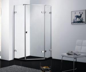 Popular 8mm Tempered Glass Shower Cabin Bathroom Shower Box Tempered Glass  Door Screen