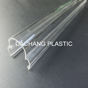 Optical Clear Acrylic Extrusion Profile for Lampshade pictures & photos