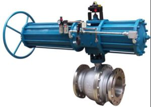 ANSI Flanged Ball Valve with Electric Actuator (Q941F-150LB) pictures & photos