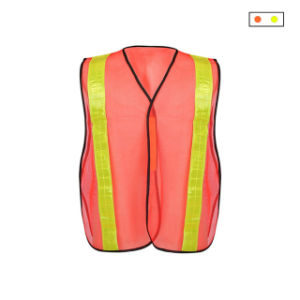 Safety Vest Mesh Vest Traffic Fluorescent Breathable Adjustable Pvc Tape Workplace Safety Supplies Security & Protection