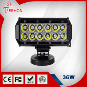 Hot Selling 2520lm 7 Inch 12V 36W LED Light Bar Flood pictures & photos