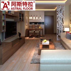 Oak/ Teak/ Bamboo/ Beech/ Color 12mm HDF Laminate Flooring pictures & photos