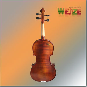 Middle Grade Flamed Fiddle Violin pictures & photos