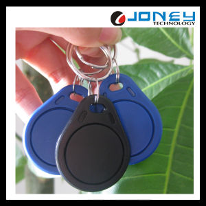 125kHz/13.56MHz Access Control Blue RFID Keyfob pictures & photos
