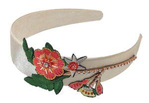 6fff25392f1 China Women Handmade Embroidery Floral Headbands Crystal Rhinestone Hair  Accessories - China Floral Headband