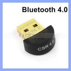 2.402GHz-2.480GHz USB Bluetooth CSR 4.0 Receiver Dongle Adapter Supporting Bluetooth 2.1 + EDR/3.0 + Hs/4.0 + Le pictures & photos