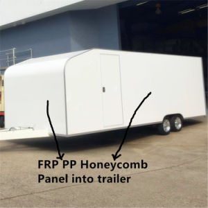 FRP Sheet and Sandwich Panel for RV & Caravan Industry pictures & photos