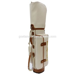 Unique New Design Top Quality PU Leather Golf Bag pictures & photos