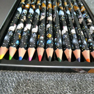 Hot Stamping12 Color Pencil pictures & photos