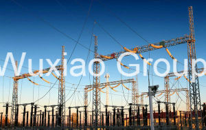 Power Transmission Transformer Distribution Substation Steel Structure pictures & photos
