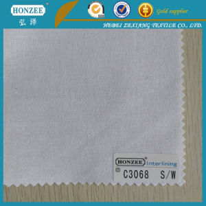 Woven Non Woven Fusible Fabric for Garment Coat Inner Interlining