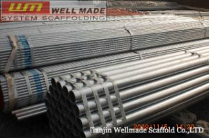 Od48.3mm Aluminium-Killed Galvanized Scaffold Tube Pipe pictures & photos