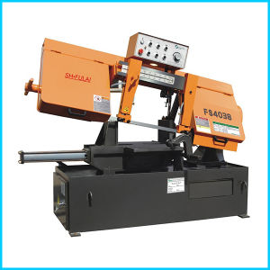 Fs4038 Factory Direct New Type Sales Horizontal Semi-Auto Metal Sawmill Band Saw Machine