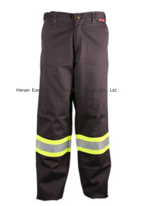 UL Certificate HRC2 Flame Resistant Reflective Tapes Cargo Pants pictures & photos