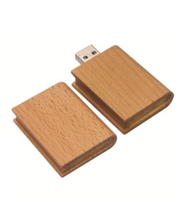 Classical Wooden USB Pendrive with Engraving Logo pictures & photos