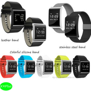 Newest Waterproof IP67 Smart Bracelet with Multi-Color (X9Plus) pictures & photos