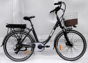 28inch Big Tire City Electric Bicycle for Woman pictures & photos