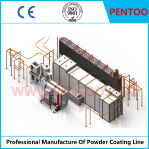 Powder Coating Line for Spraying Casting Aluminum pictures & photos