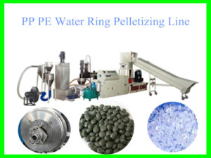Hot Sale Water Ring Plastic Granulation Line with CE pictures & photos