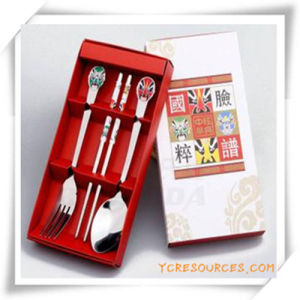 Promotion Gift for Stainless Steel Tableware Set pictures & photos