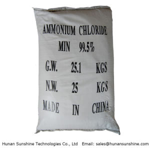 Industrial Grade Ammonium Chloride for Dry Battery pictures & photos